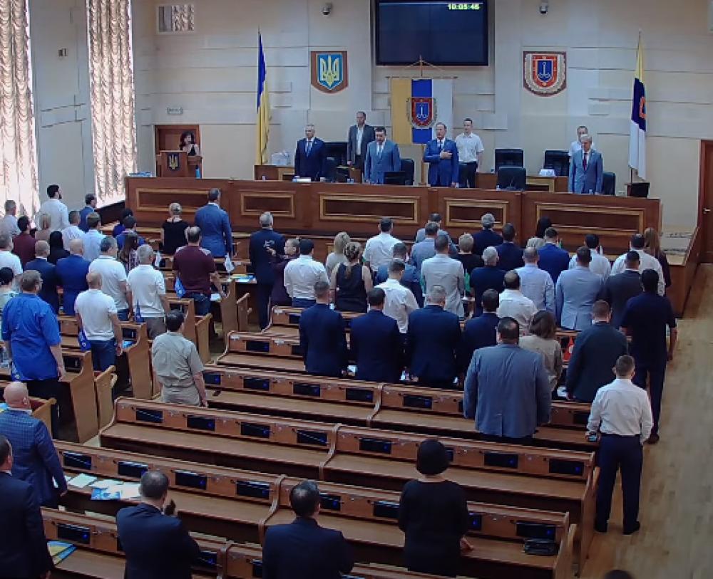 Почетный гражданин, новый депутат и мусороперерабатывающий завод // В Одессе прошла сессия областного совета