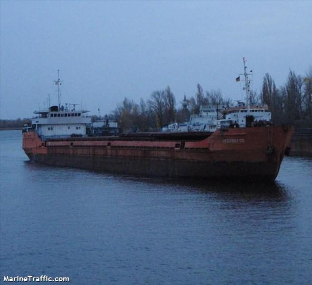 В Черном море затонул сухогруз с украинским экипажем на борту (обновлено)