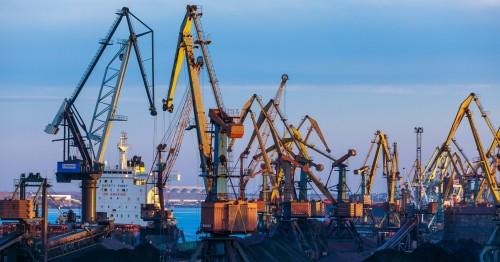 Сколько груза перевалили украинские порты в 2020-м году // ТОП-5 лидеров // Инфографика