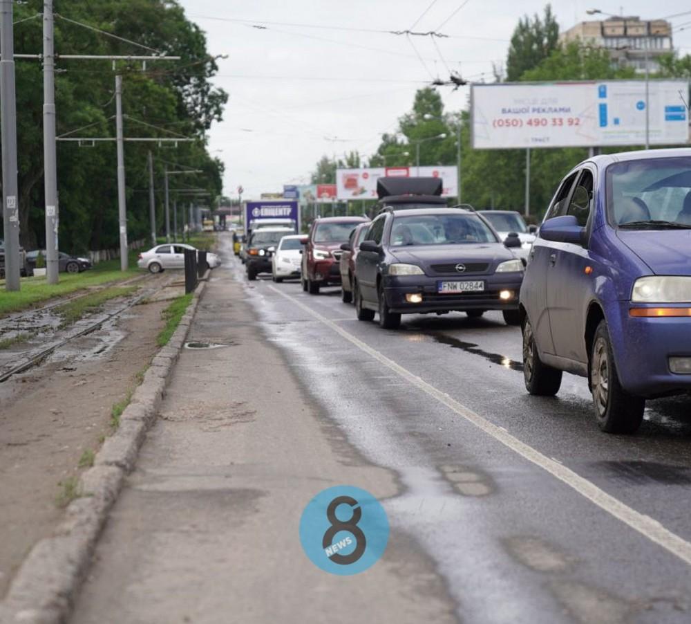 На Люстдорфской дороге появилась велодорожка