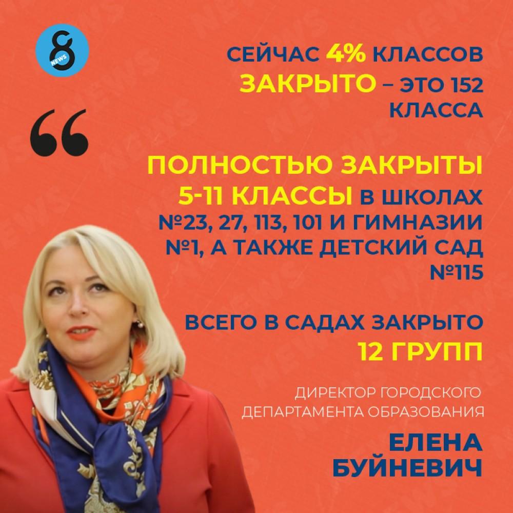 В Одессе закрылись школы и детсады