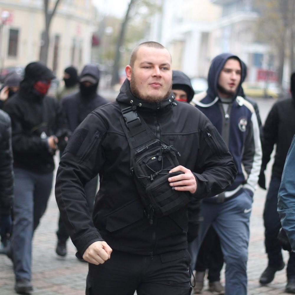 Одесскому активисту Демьяну Ганулу разбили автомобиль