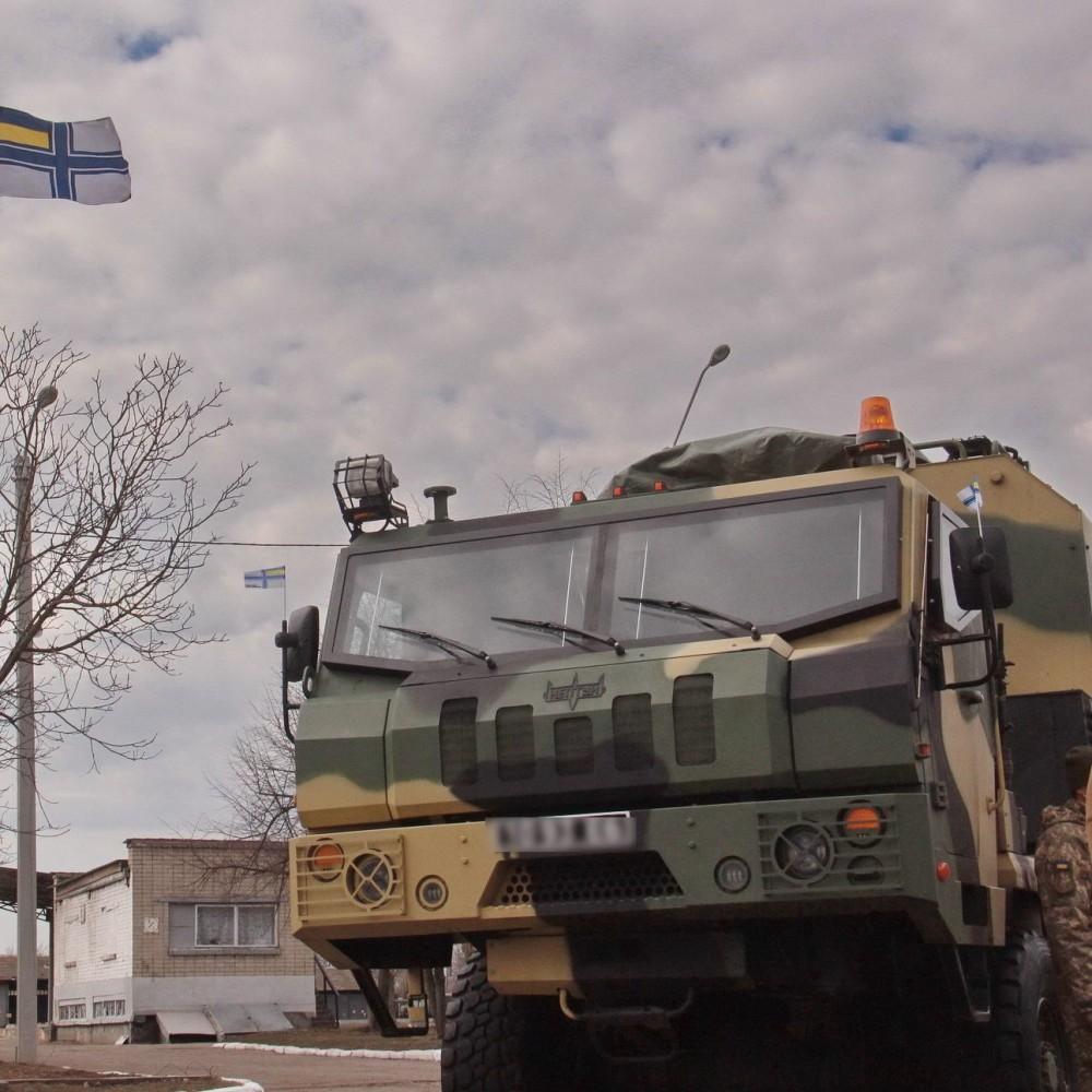 Военно-морские силы ВСУ получили противокорабельный комплекс «Нептун»