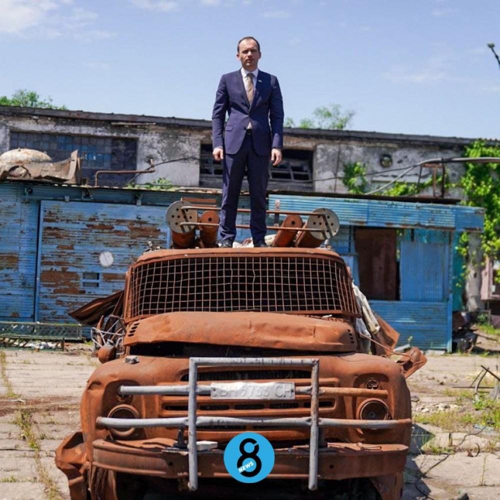 Министр юстиции Денис Малюська презентовал одесскую колонию для продажи // Фотореп из зоны