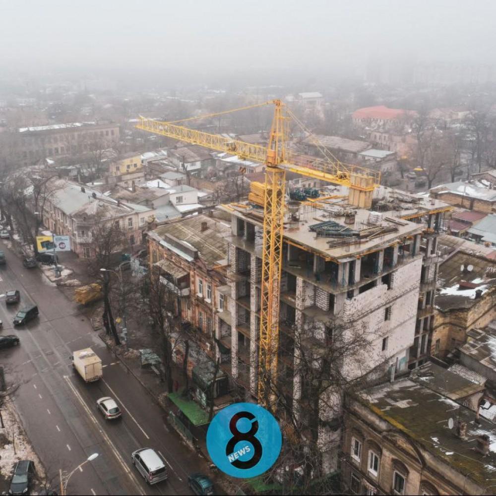 ЖК Smart Hall на Колонтаевской // Чиновники в суде требуют отменить строительство