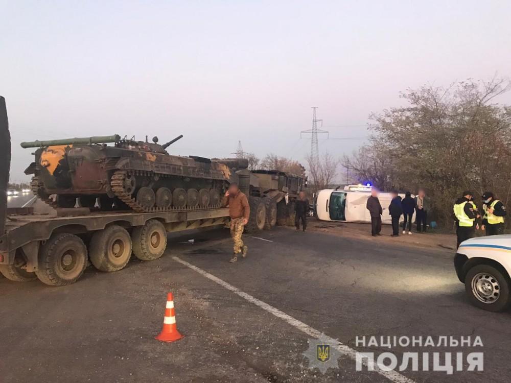 Подробности ДТП с военной техникой в Лиманском районе