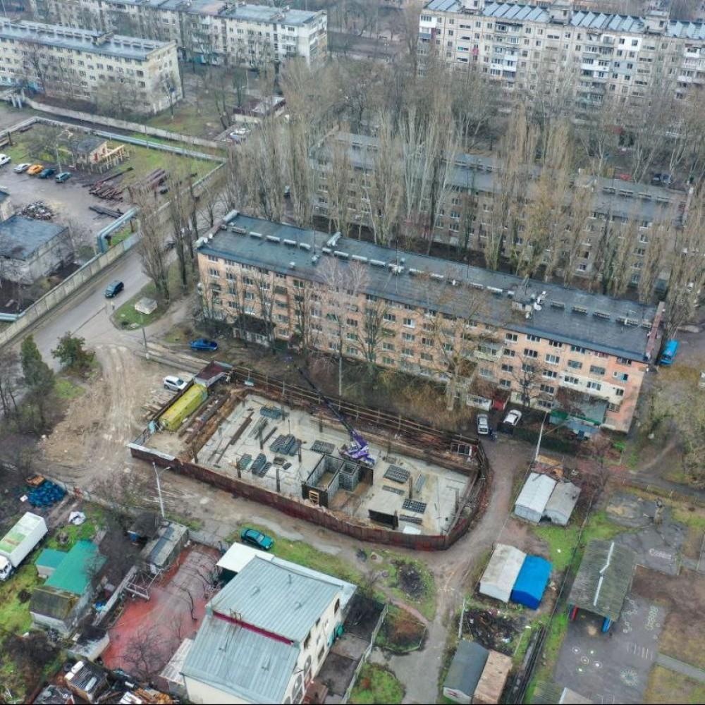 Жилая высотка под видом реконструкции магазина // Очередная мутная стройка в Одессе с подлогом документов
