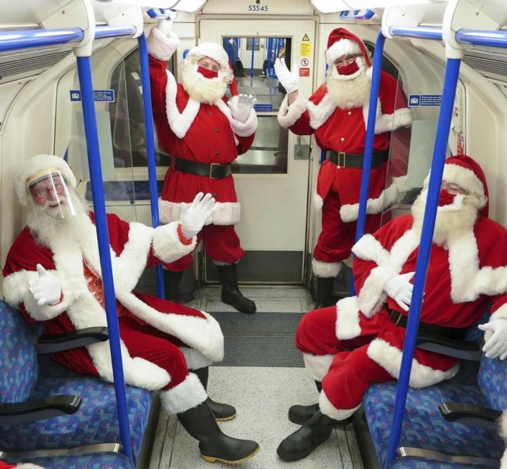 🎅 Как Санта-Клаусы и Деды Морозы будут работать на праздники в Украине и по всему миру