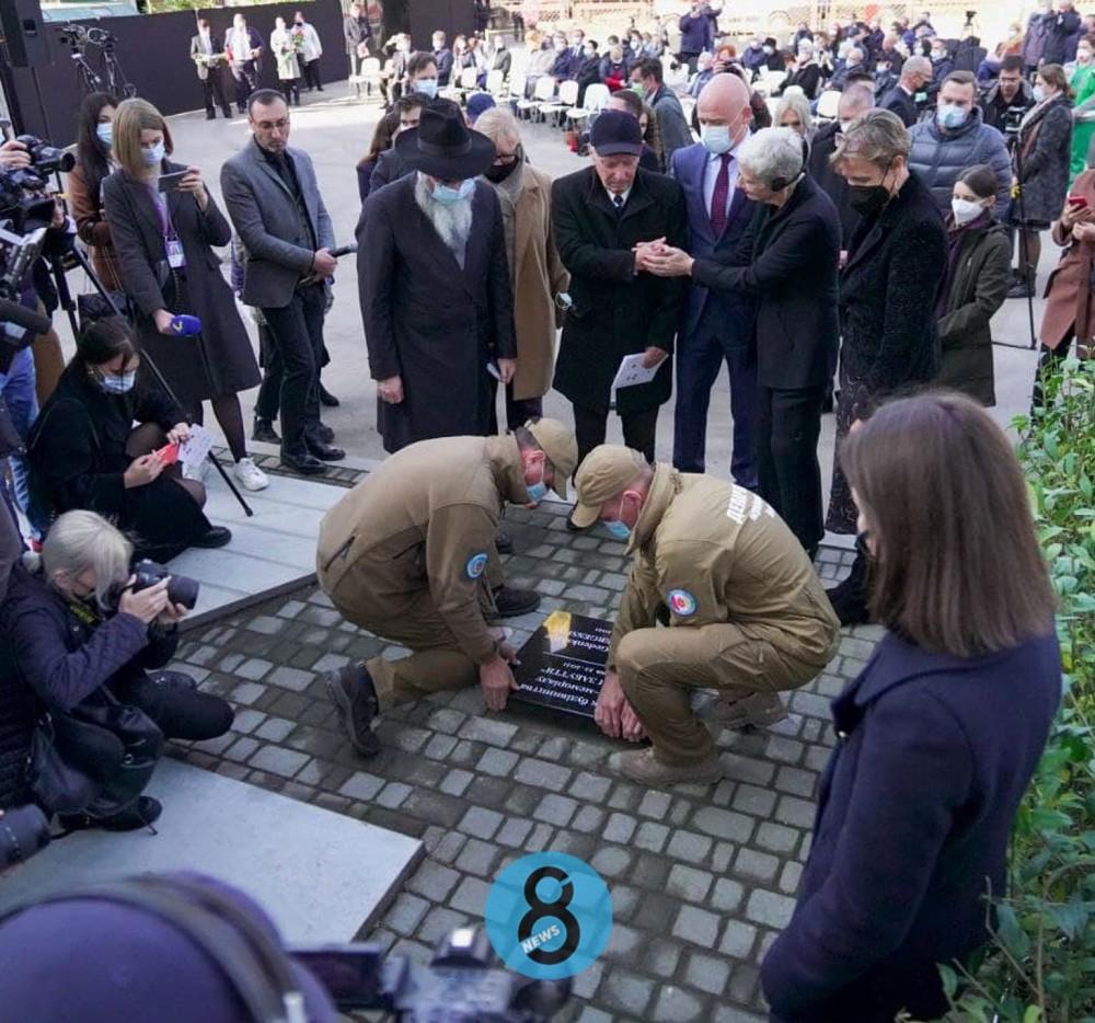 «Против забвения» // В Одессе заложили капсулу под будущий мемориальный сквер