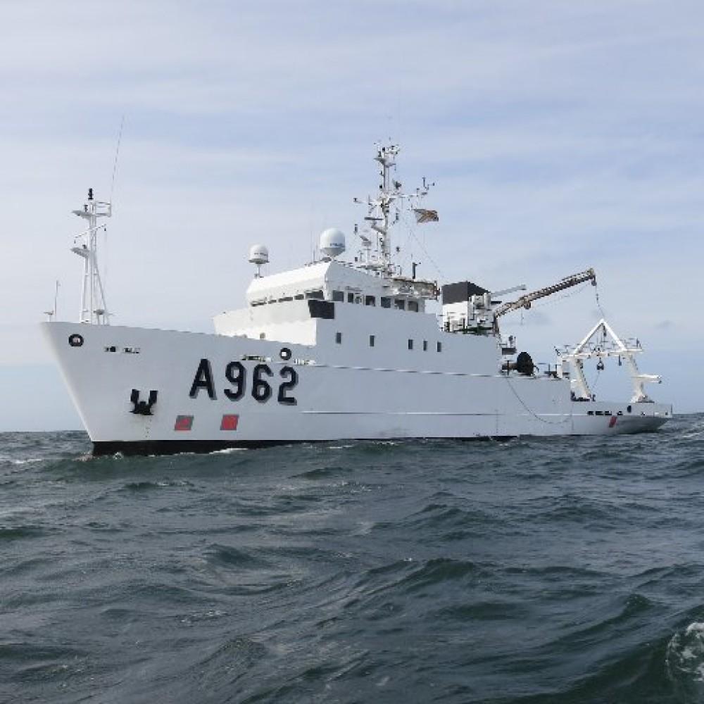 Будет базироваться в Одессе // Бельгия подарила Украине научно-исследовательское судно Belgica