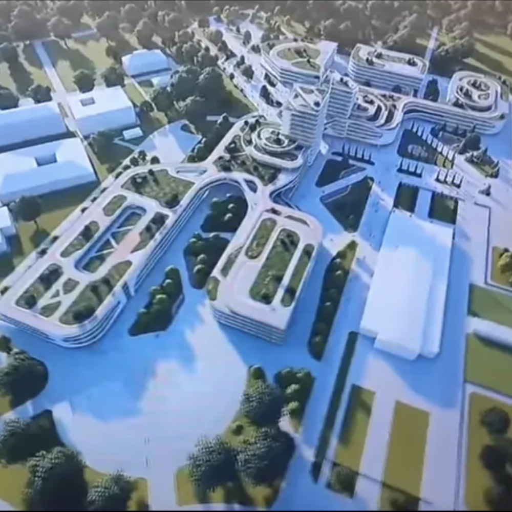 За 7,5 миллиардов и на 16 гектарах // В сети показали университет Зеленского