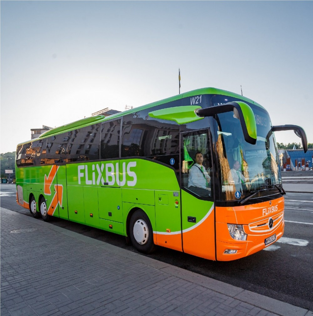 FlixBus запускает маршрут из Затоки через Киев на Буковель и Драгобрат