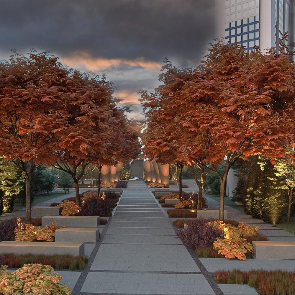 Финансирование выделено // Мэрия показала эскизы будущего мемориального сквера «Против забвения»
