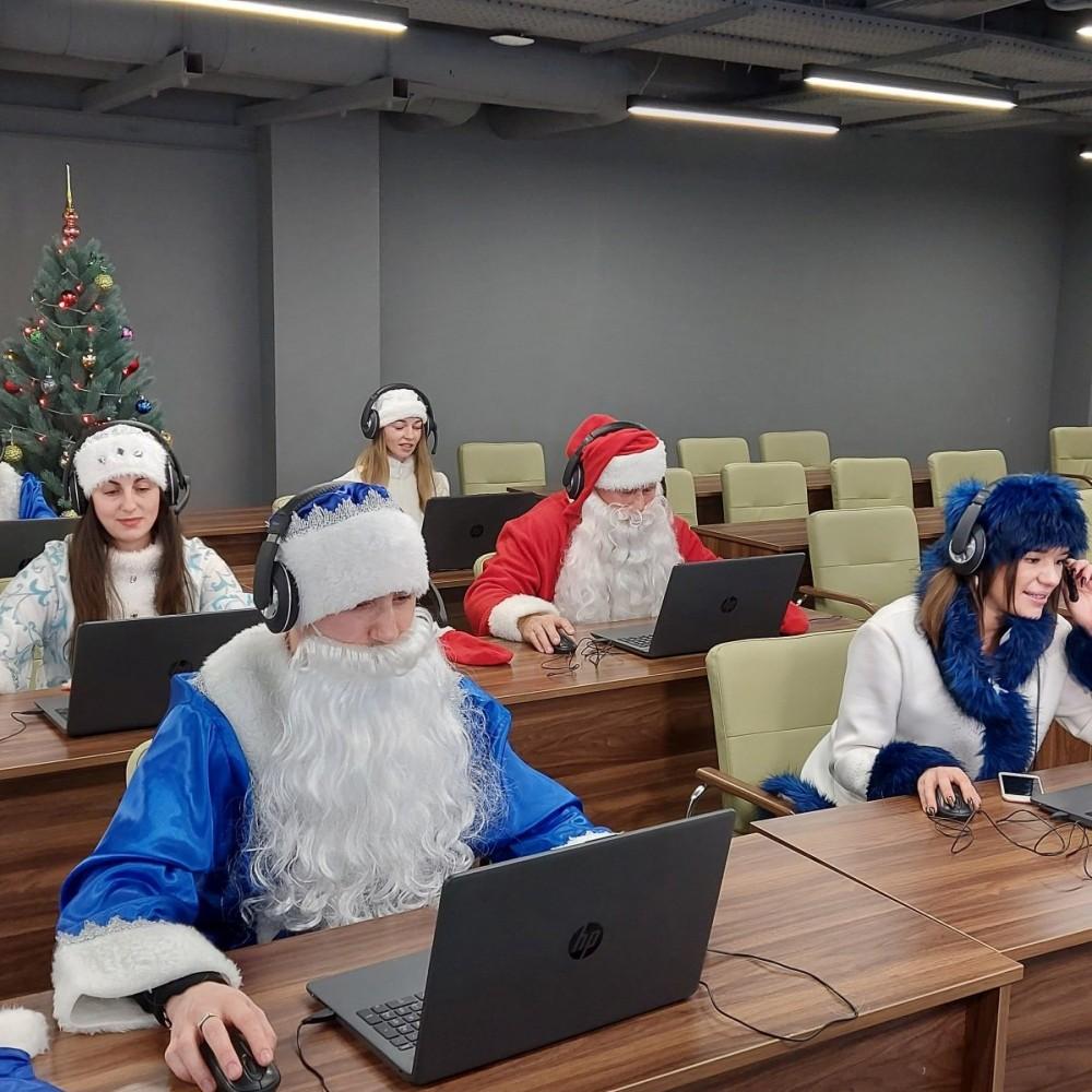 В Одессе заработал новогодний колл-центр Деда Мороза // Что не так с этой идеей мэрии