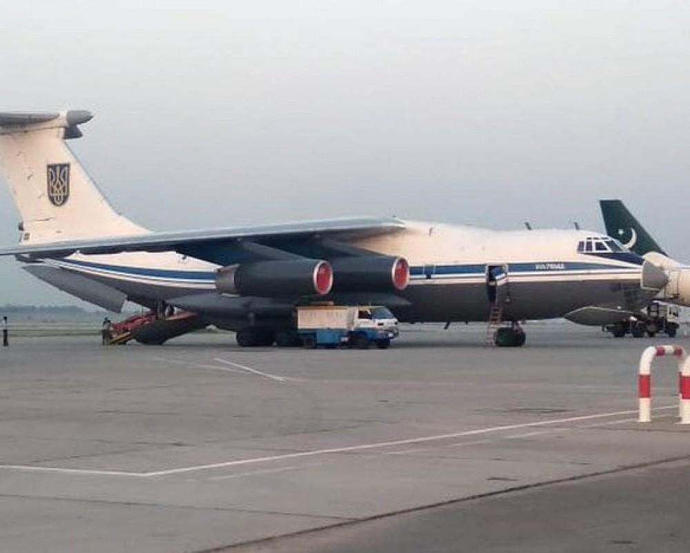 Из кабула вылетел военный транспортный самолет ВСУ с украинцами на борту