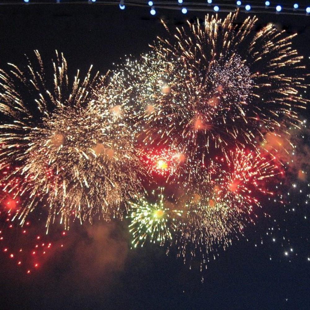 Где смотреть фейерверк в новогоднюю ночь в Одессе