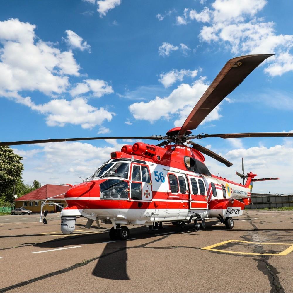 Украина получила шестой французский вертолет Airbus