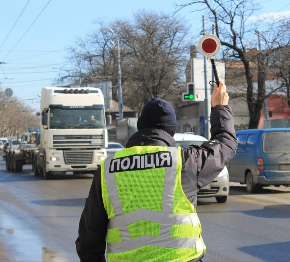Запрет движения фур по Ивановском мосту //Патрульные пугают водителей штрафами