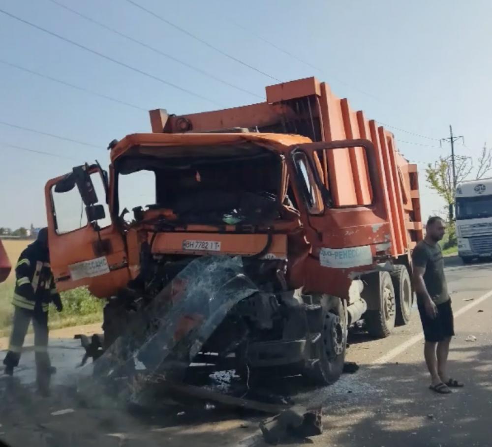 ДТП на Объездной дороге // Образовалась большая пробка