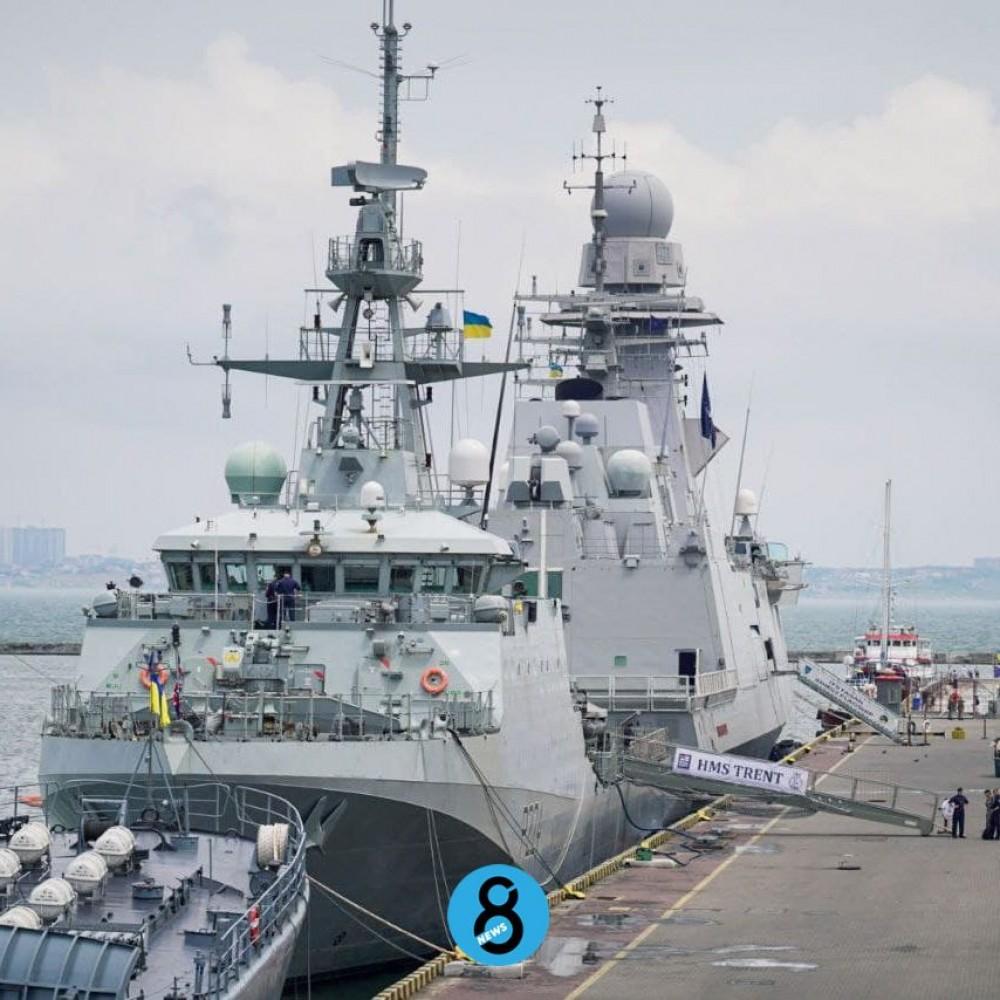 Sea Breeze – 2021 // Военные завершили первый блок международных учений // Фотореп