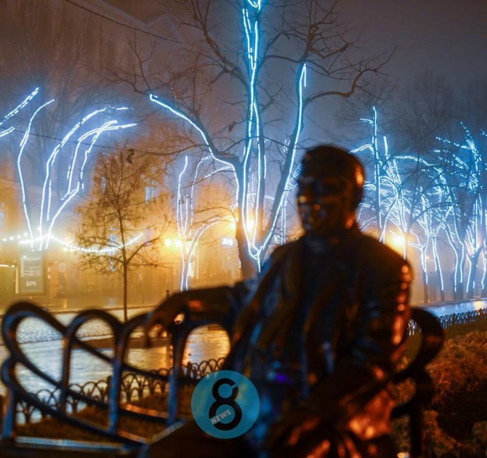 Атмосферный фоторепортаж // Вечер в Одессе