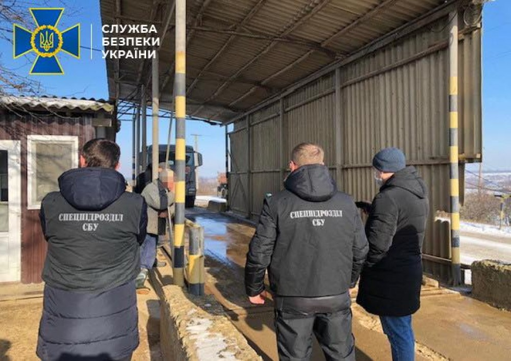 Незаконная добыча песка на 100 млн грн // В Одесской области СБУ прикрыла незаконную разработку недр
