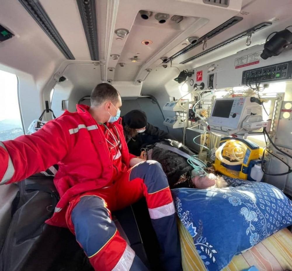 Львовская область стала первой в Украине, где за долгое время применили вертолет для медицинской эвакуации