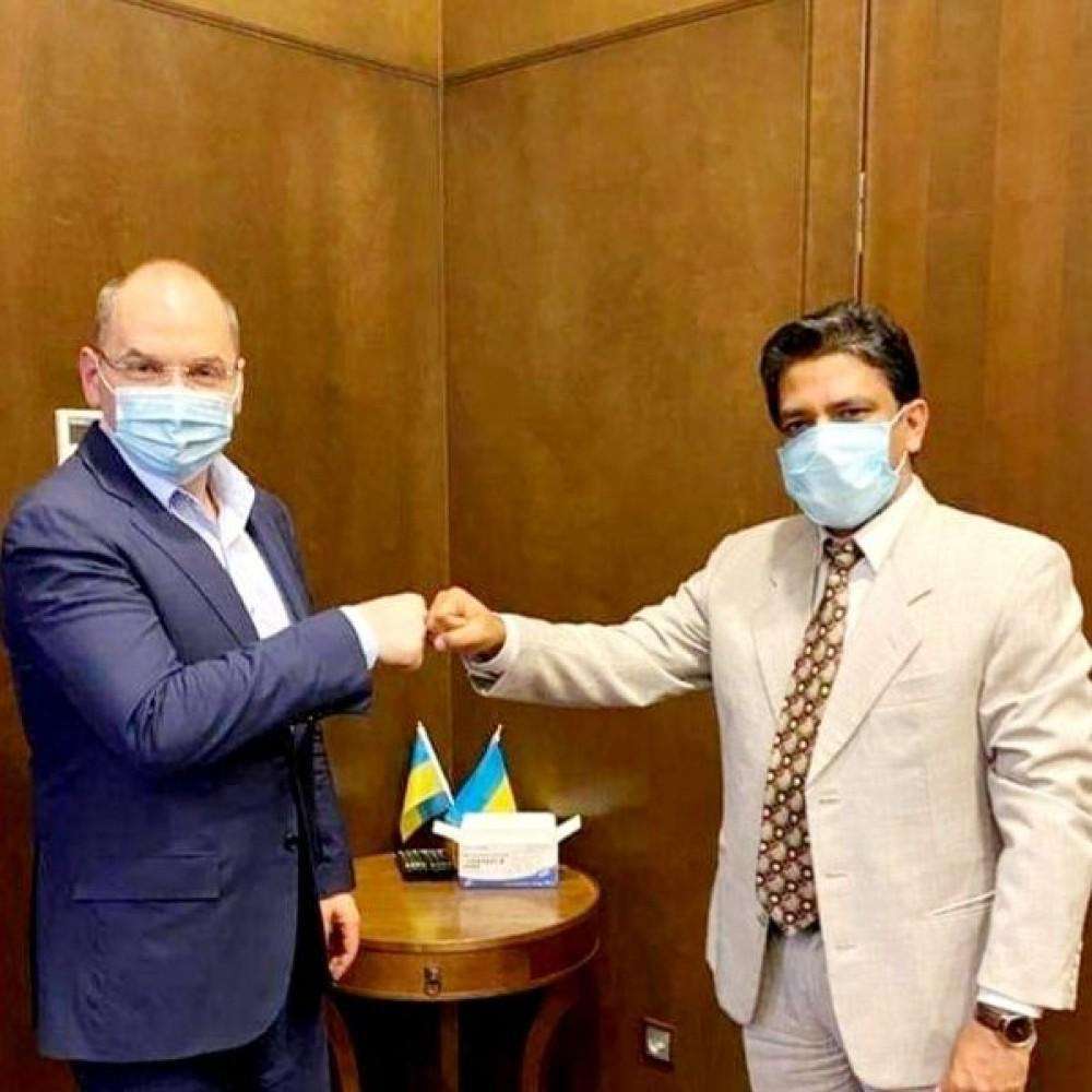 Степанов договорился // В Украине могут пройти испытания новой вакцины-кандидата