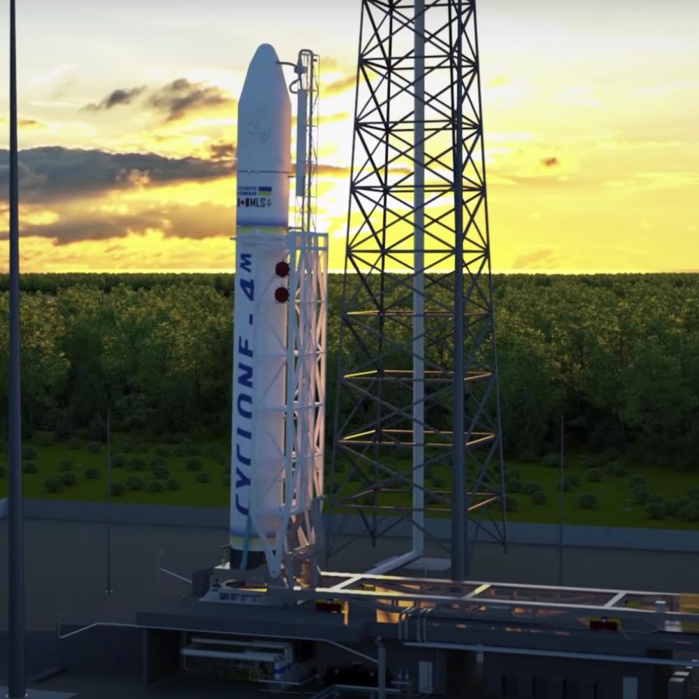 Украина и Канада построят комплекс для запуска космических аппаратов на ракетоносителе «Циклон-4М»
