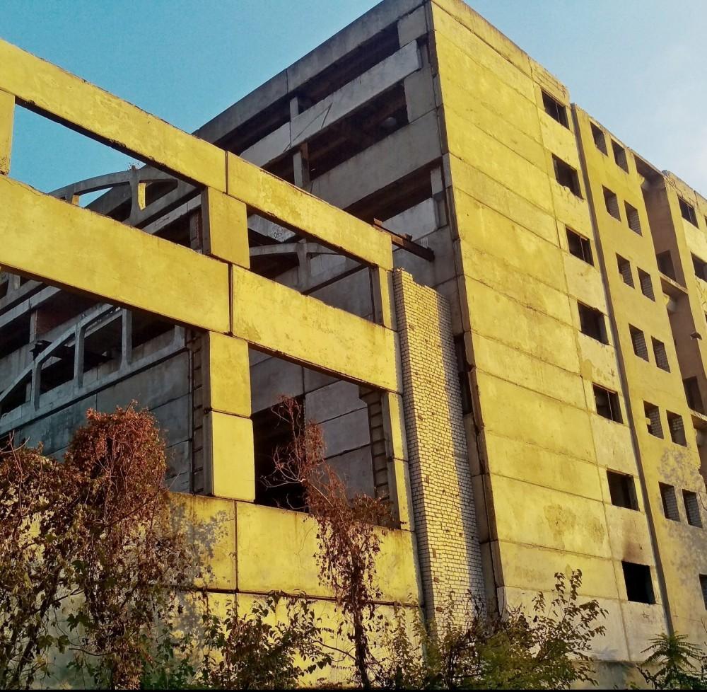 18 тыс м² индустриального недостроя за 10 млн грн // Фонд госимущества выставил на продажу завод «Орион»