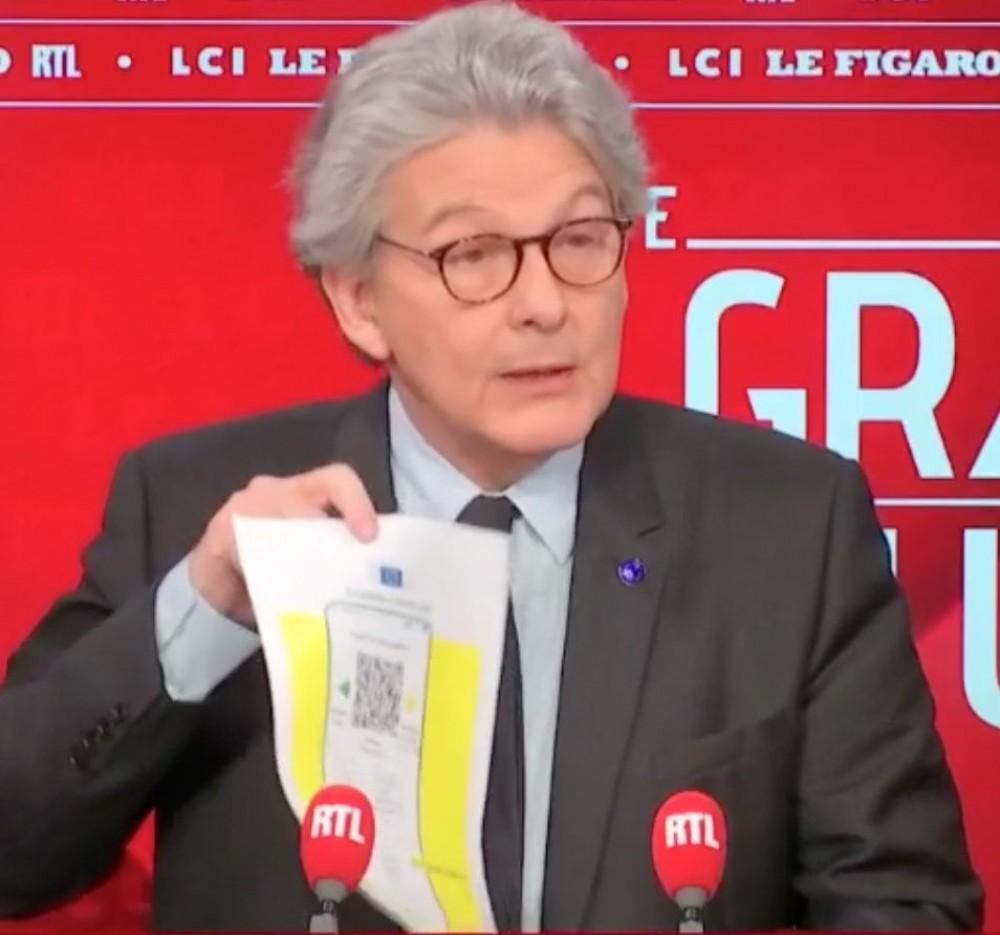 💉 Паспорт вакцинации начнет действовать в Евросоюзе с 15 июня