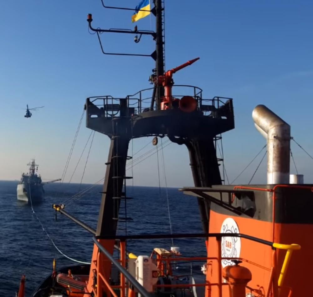 Первыми сигнал бедствия получили турки // Подробности спасения корабля ВМС Украины