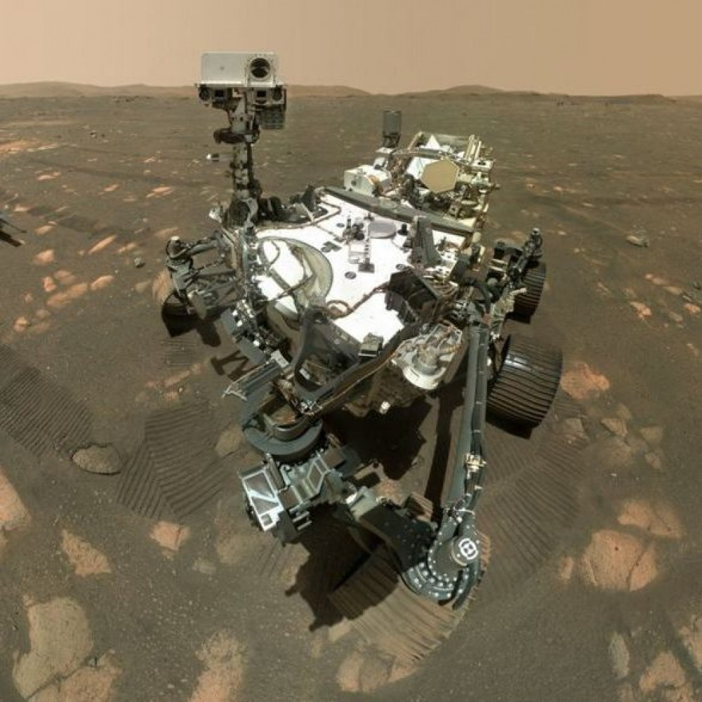 100 дней на Марсе // Ровер Perseverance отчитался о ходе миссии