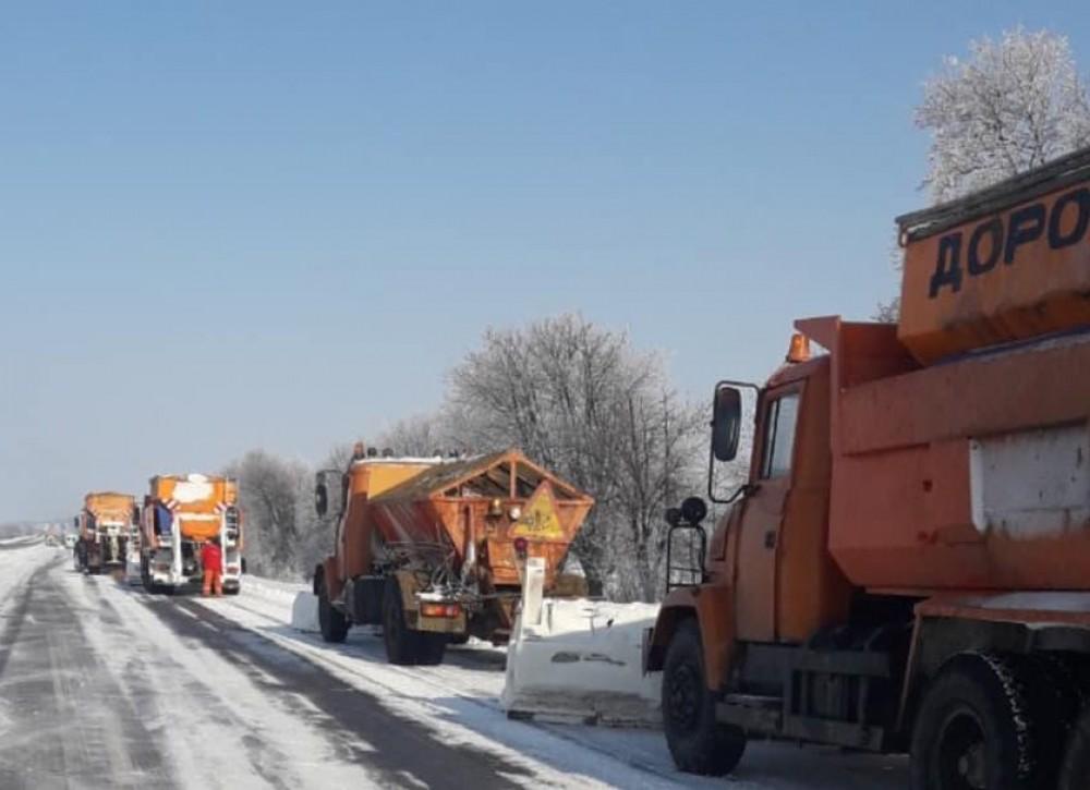 Непогода в Одесской области // Ситуация на трассах (обновлено)