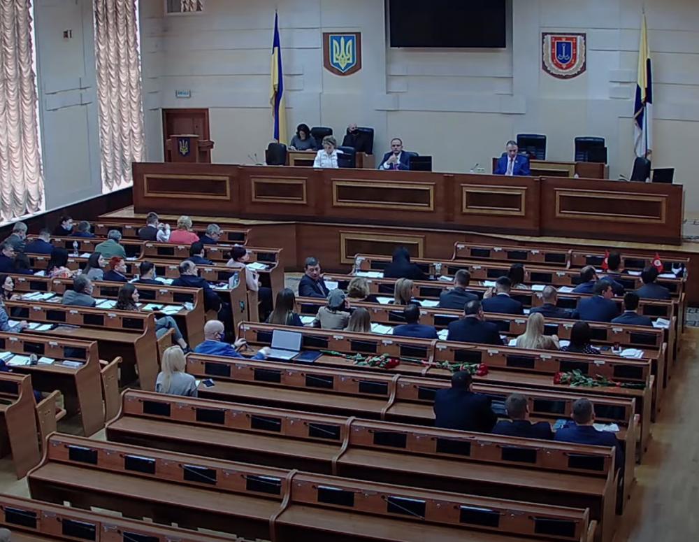 На сессии Одесского райсовета не обошлось без скандалов// Депутаты распорядились имуществом громад