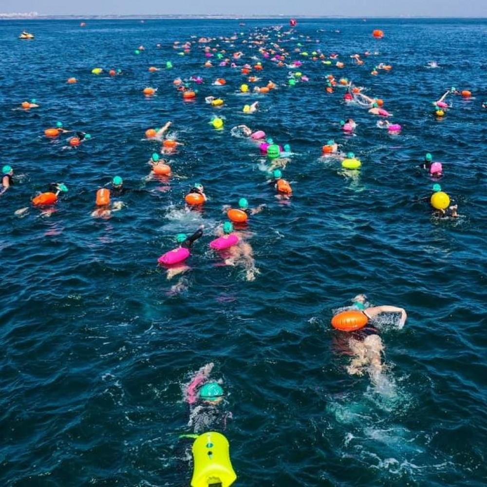 Oceanman Odesa 2021 // На Ланжероне стартовали соревнования по плаванию   в открытой воде