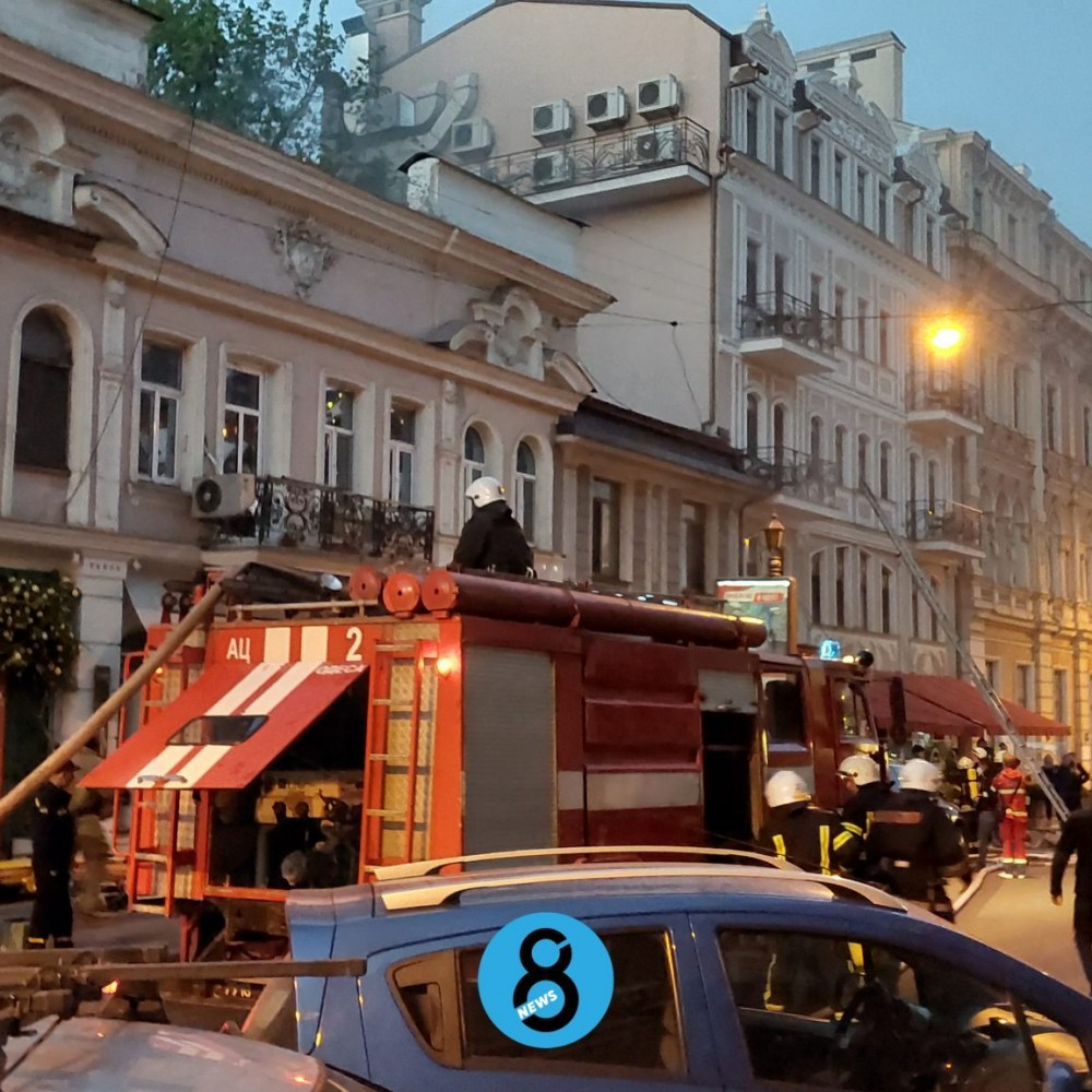 В Пале-Рояле сгорел ресторан «Щастье»