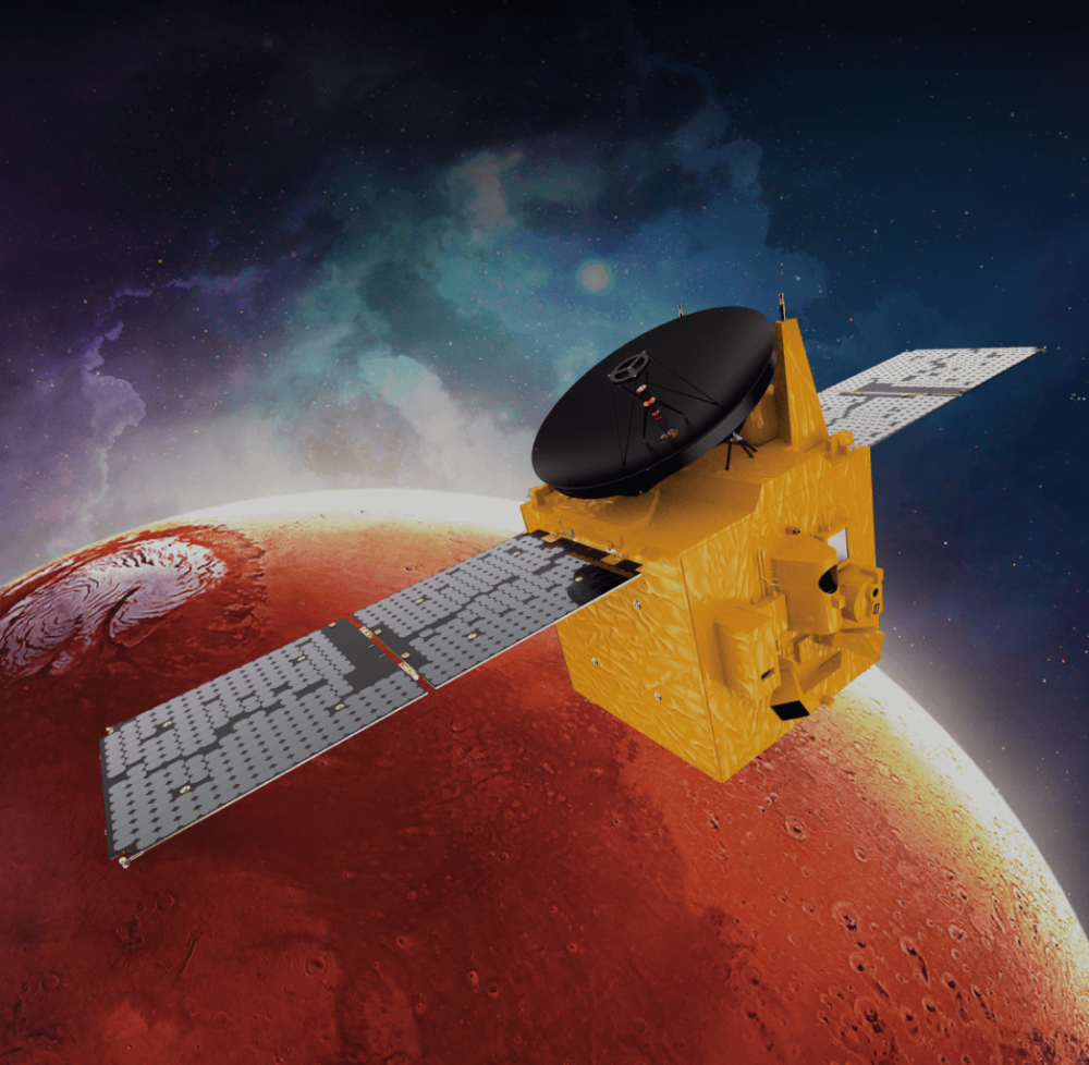 Зонд Al Amal достиг орбиты Марса // Это первая арабская межпланетная миссия