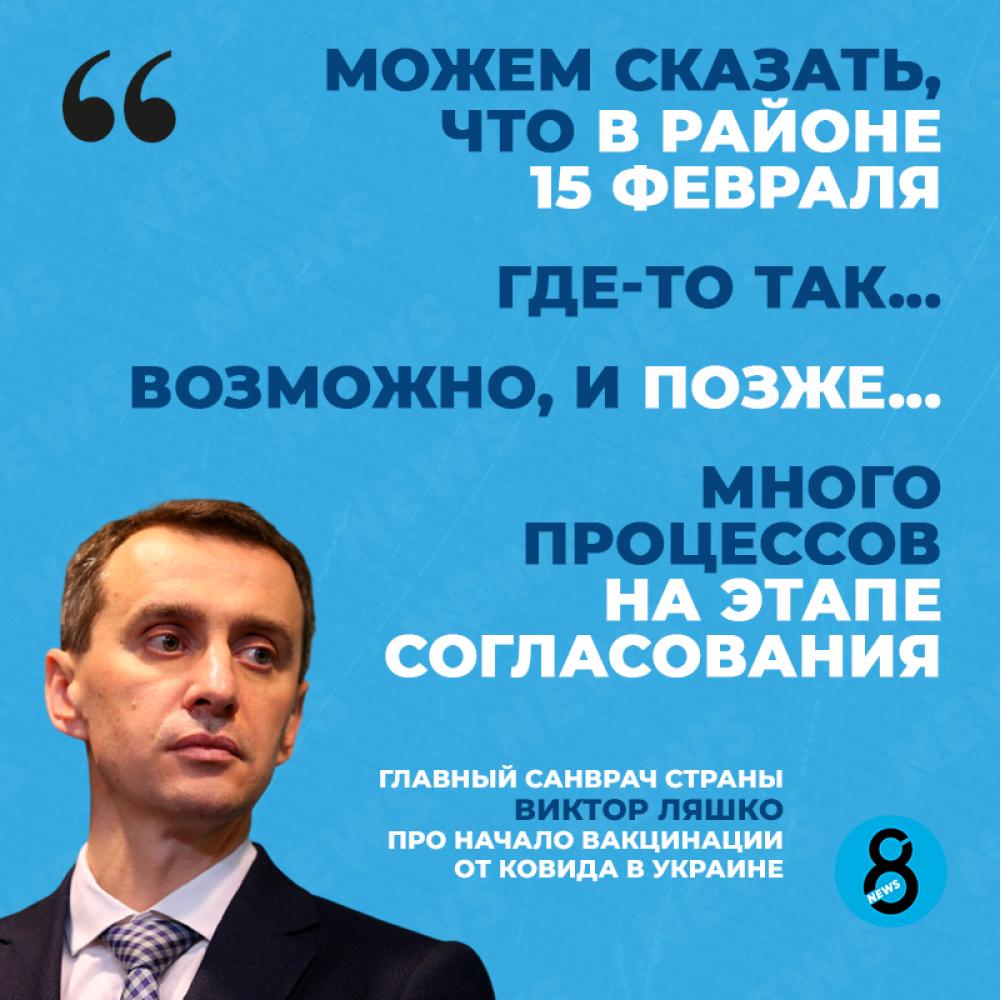 Главный санитар Украины Виктор Ляшко высказался про то, когда нас начнут чипировать прививать от короны.