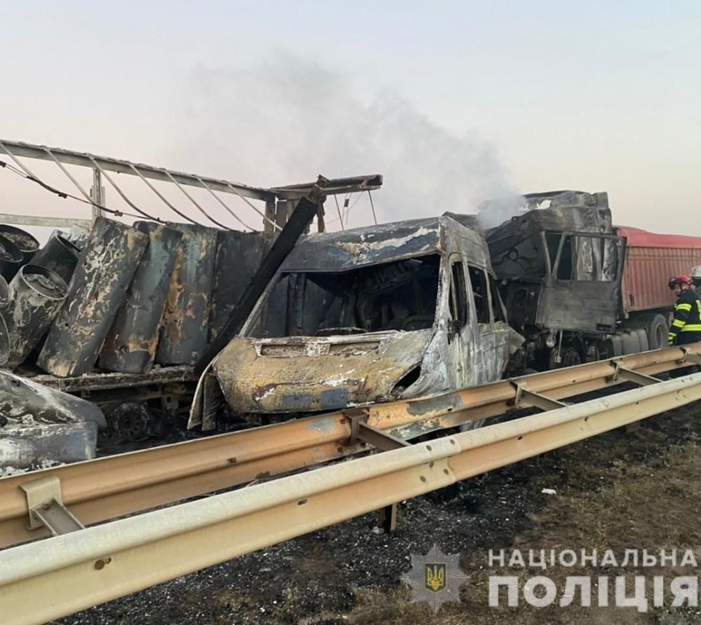 5 машин столкнулись на трассе Одесса – Киев // Погибли 3 человека (ОБНОВЛЕНО)