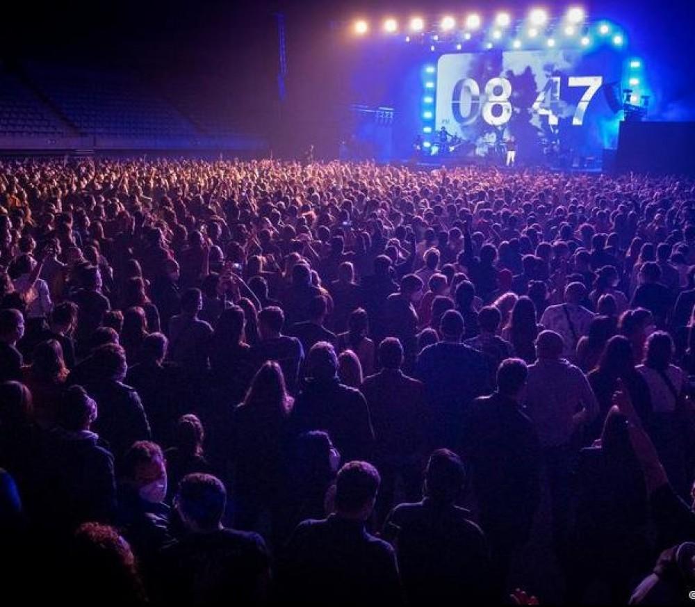 В Испании прошел первый крупный концерт с начала пандемии // Пускали только с отрицательным тестом