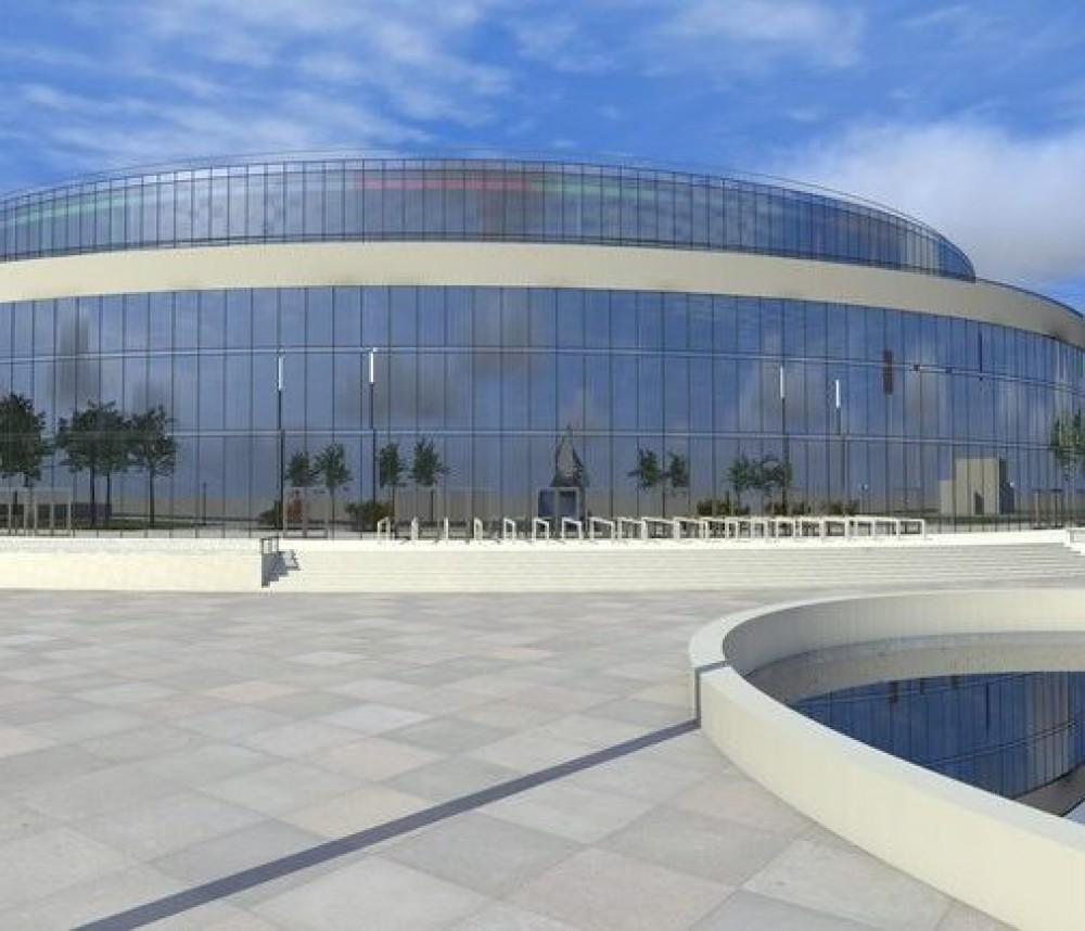 Проект нового Дворца спорта обойдется городу в 8,6 млн грн