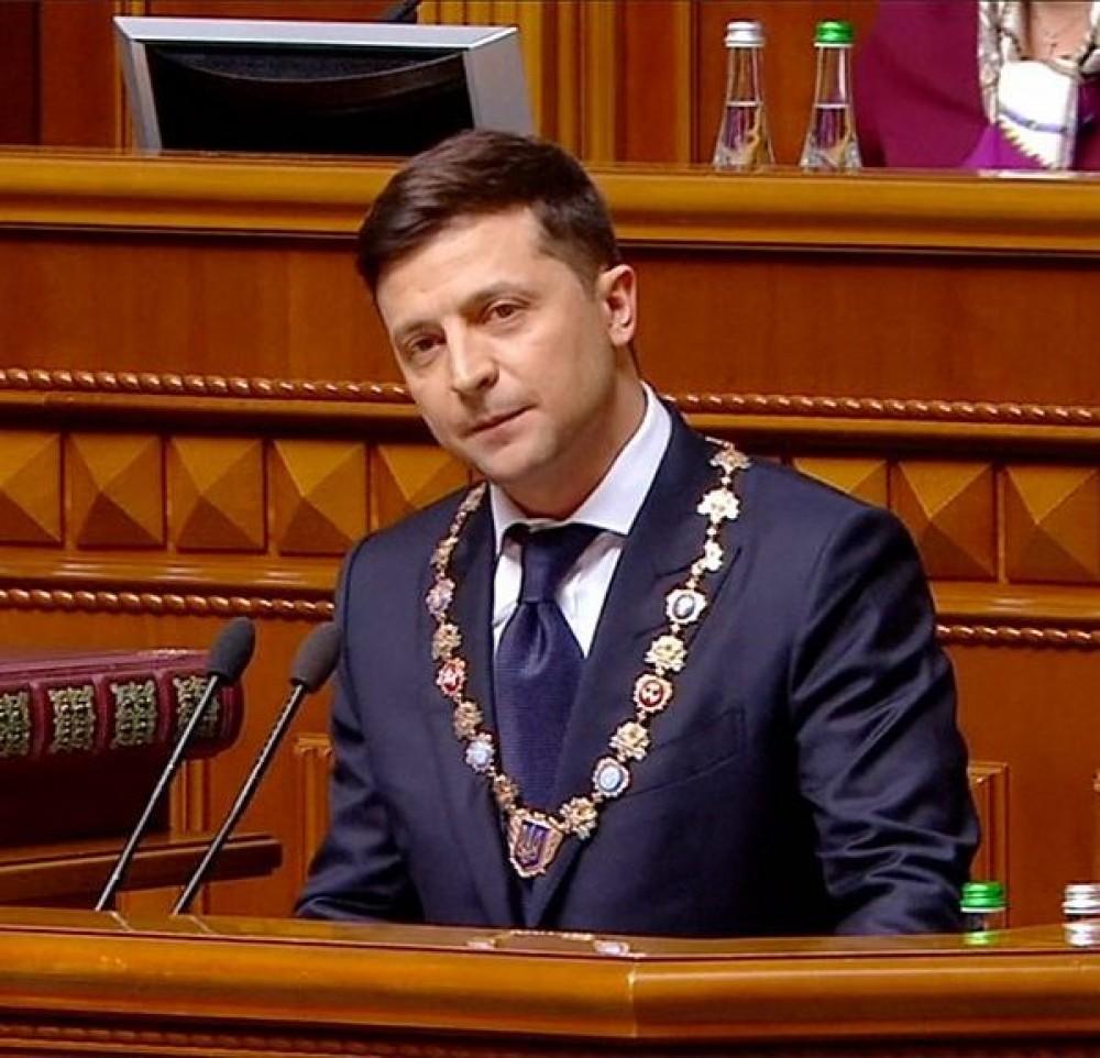 Зеленский добавил звеньев в орденскую цепь Знака Президента Украины
