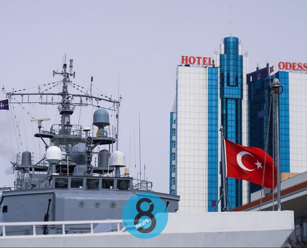 В Одесский порт зашли тральщики НАТО