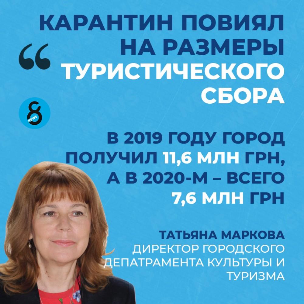 Стало известно, сколько туристов посетили Одессу в 2020-м