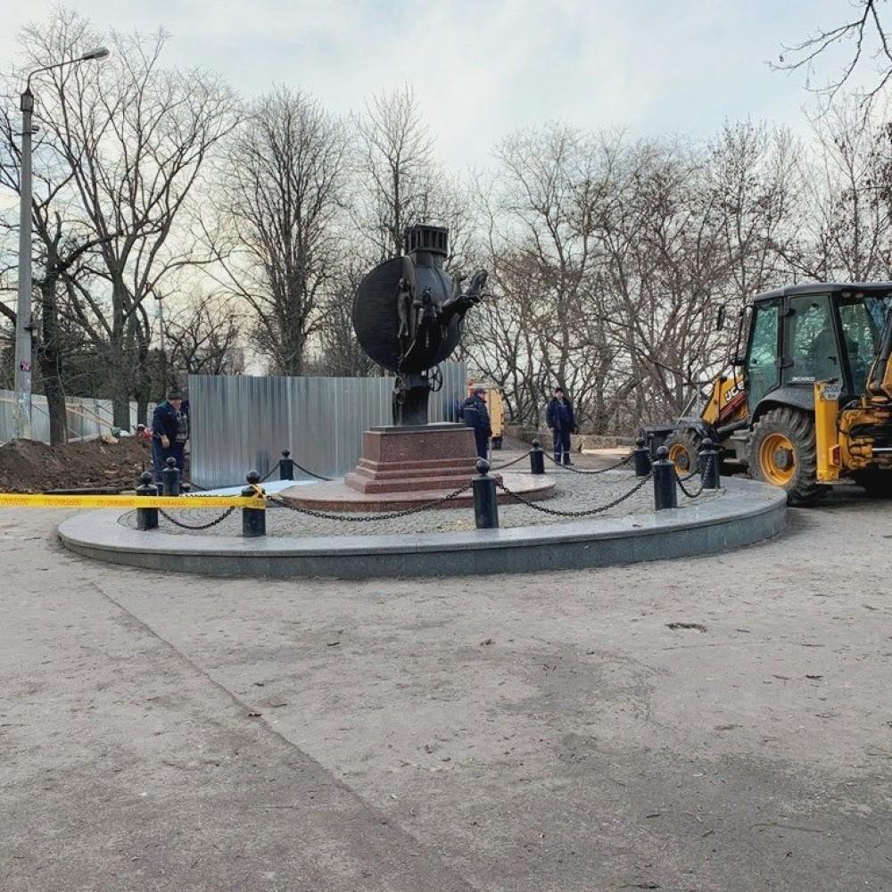 Вторая очередь // В Одессе начался ремонт бульвара Жванецкого