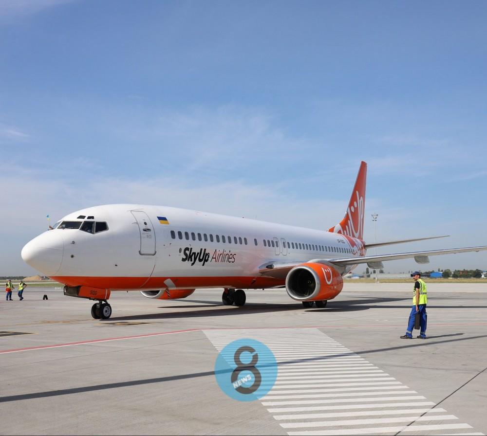 В Международном аэропорту «Одесса» открыли новую взлетку