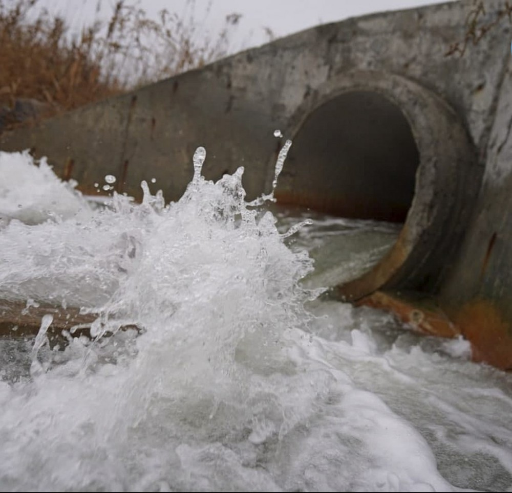 В Куяльницкий лиман снова пустили морскую воду