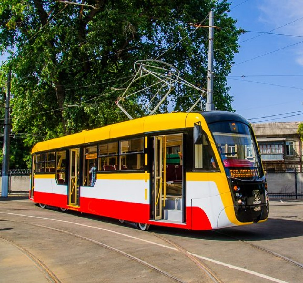 Седьмой по счету // В Одессе собрали новый трамвай «Одиссей»